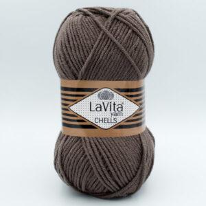 Пряжа LaVita Chells 9796 мокко