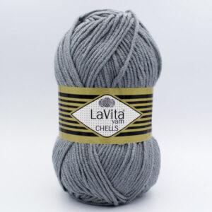 Пряжа LaVita Chells 9801 серый