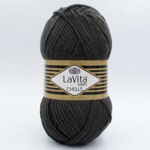 Пряжа LaVita Chells 9810 графит
