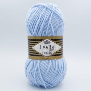 Пряжа LaVita Chells 99 голубой