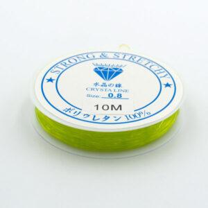 Леска-резинка салатовая 0.8 мм
