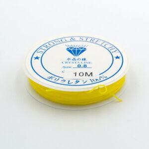 Леска-резинка желтая 0.8 мм