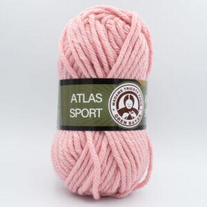 Пряжа Madame Tricote Atlas Sport 119 розовая пудра