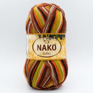 Пряжа Nako Boho 82441 Golden Harvest