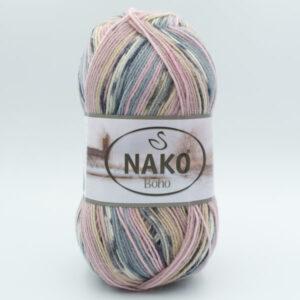 Пряжа Nako Boho 82452 Mystical