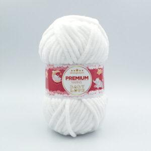 Пряжа Premium Yarns Baby Love 301 белый