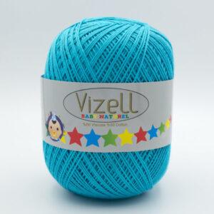 Пряжа Vizell Baby Naturel 512 голубая бирюза