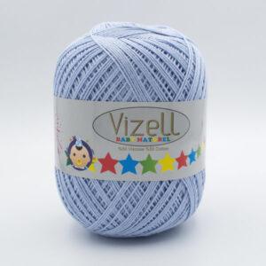 Пряжа Vizell Baby Naturel 540 серо-голубой
