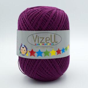 Пряжа Vizell Baby Naturel 738 темная фуксия