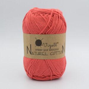 Пряжа Vizell Naturel Cotton коралл