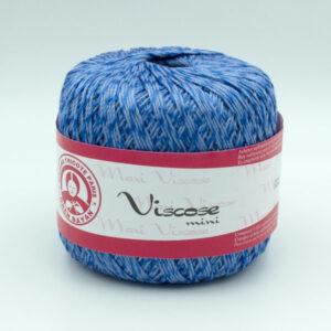 Пряжа Madame Tricote Maxi Viscose mini 5351 джинсовый