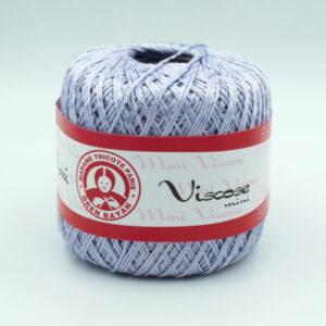 Пряжа Madame Tricote Maxi Viscose mini 6307 бледно-сиреневый