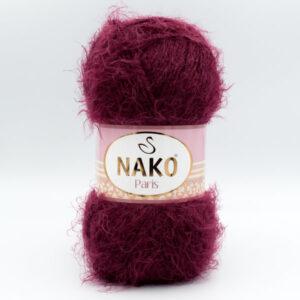 Пряжа Nako Paris 11273 бордо