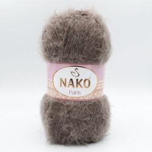 Пряжа Nako Paris 3890 серо-коричневый
