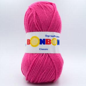 Пряжа Nako Bonbon Classic 98319 ярко-розовый