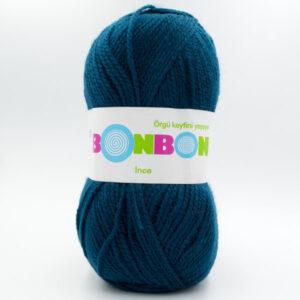 Пряжа Nako Bonbon Ince 98577 сине-зеленый