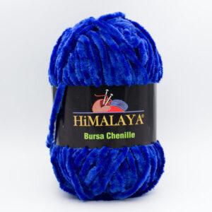 Пряжа плюшевая Himalaya Bursa Chenille синий (Velvet)