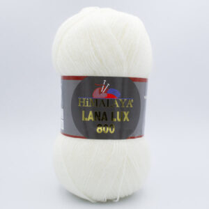 Пряжа Himalaya Lana Lux 800 74603 молочный