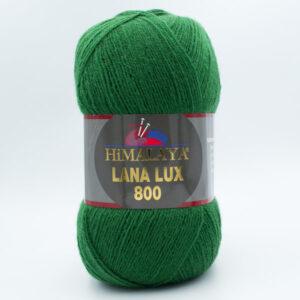 Пряжа Himalaya Lana Lux 800 74616 темно-зеленый