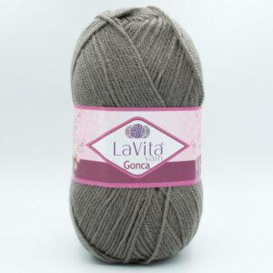Пряжа LaVita Gonca 6002 серый