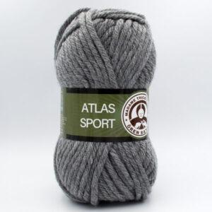 Пряжа Madame Tricote Atlas Sport серый 008