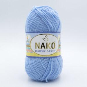 Пряжа Nako Baby Marvel 10305 голубой