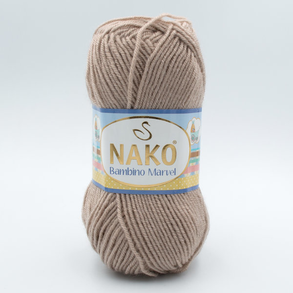 Пряжа Nako Baby Marvel 6792 бежевый