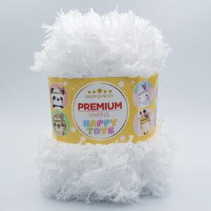 Пряжа Premium Yarns Happy Toys 201 белый