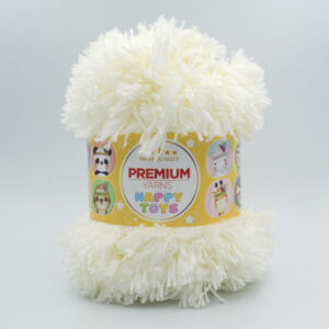 Пряжа Premium Yarns Happy Toys 208 молочный