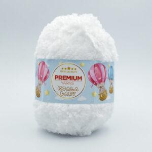 Пряжа Premium Yarns Koala Baby 101 белый