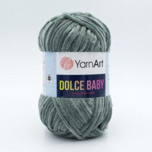 Пряжа плюшевая YarnArt Dolce Baby 760 серый