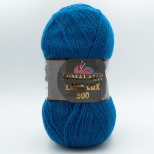 Пряжа Himalaya Lana Lux 800 74622 темная голубая бирюза