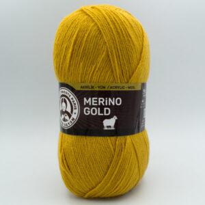 Пряжа Madame Tricote Merino Gold 115 горчица