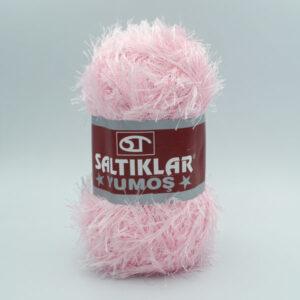 Пряжа Травка Saltikar Yumos 13 розовый зефир